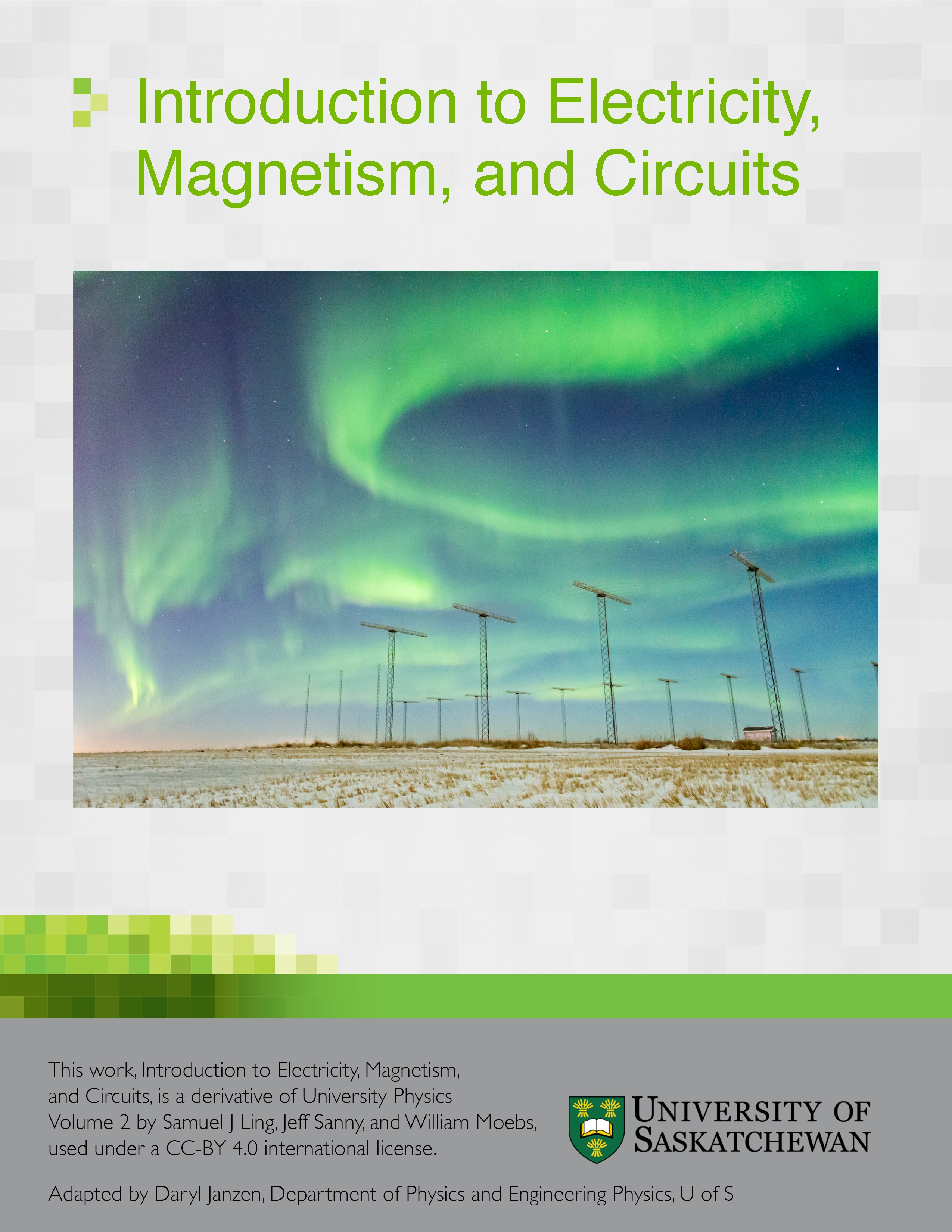 Cover image for Introduction to Electricity, Magnetism, and Circuits