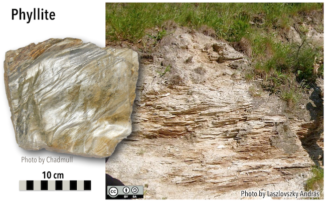 10 3 Classification of Metamorphic Rocks – Physical Geology