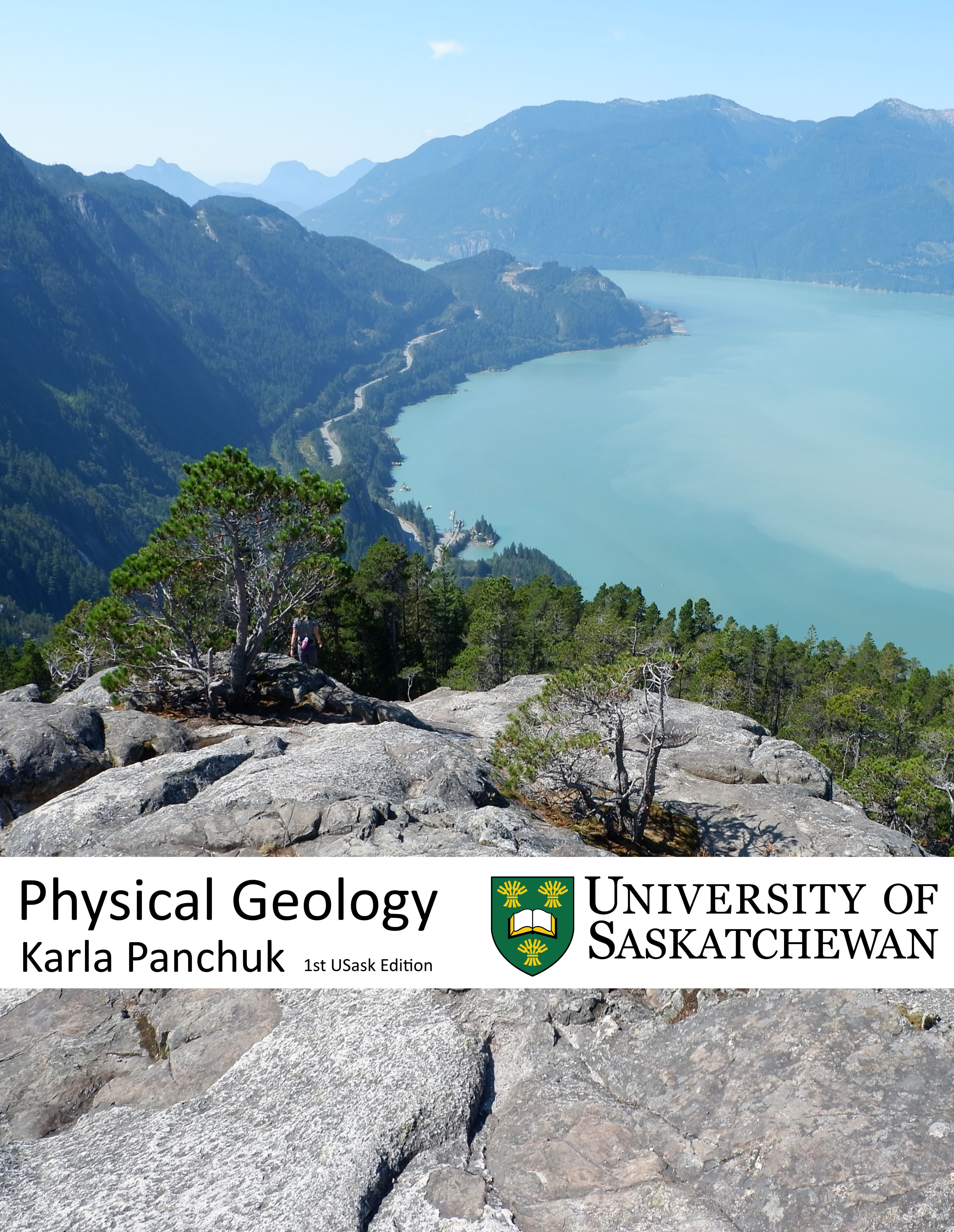 Cover image for Physical Geology, First University of Saskatchewan Edition