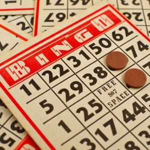 A bingo card.