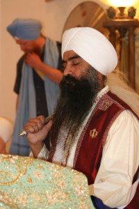 A man wearing a turban.