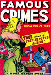 Famous Crimes Comic Book