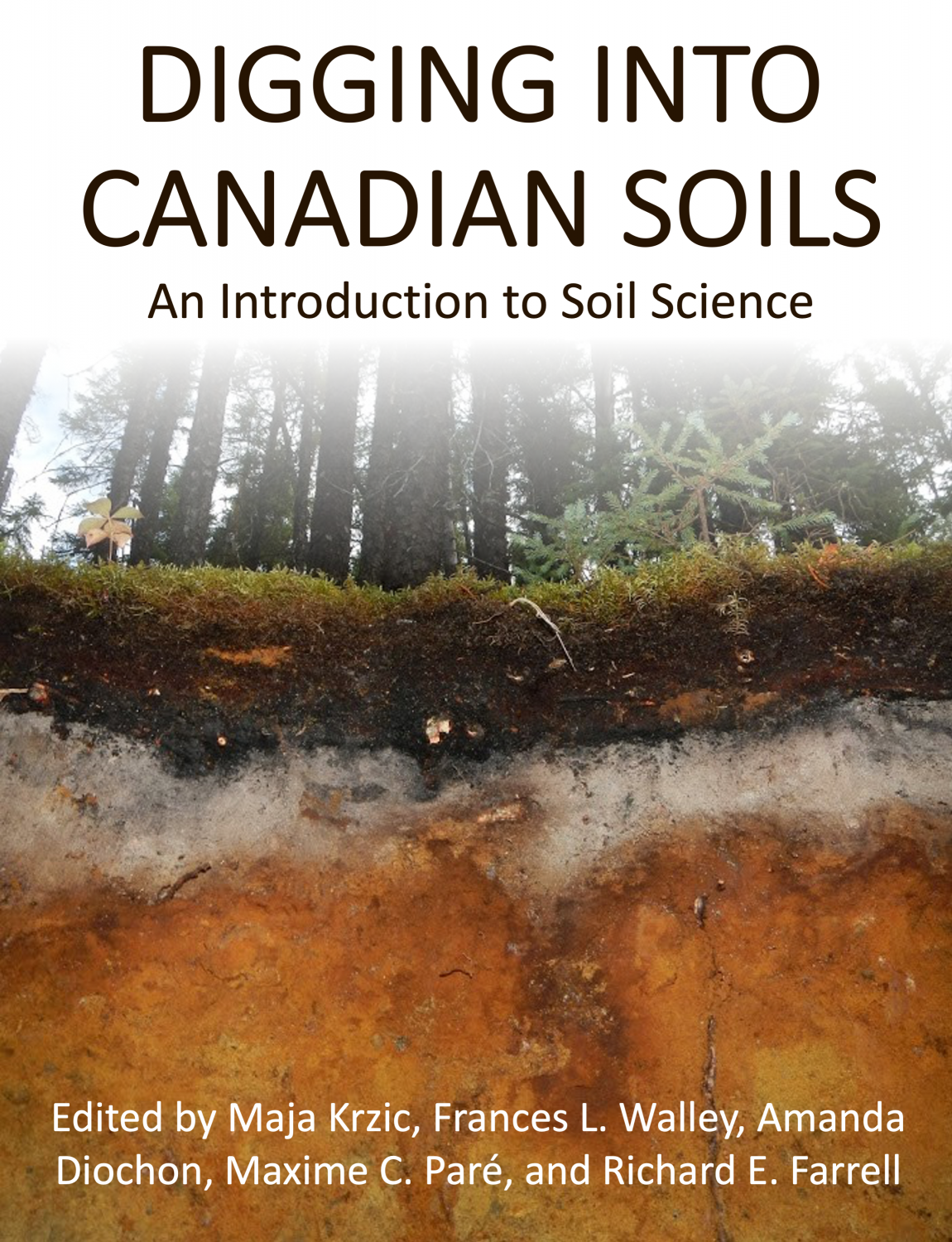 Cover image for Digging into Canadian Soils